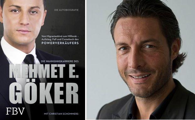 Christian Schommers (rechts) hat zusammen mit Mehmet Göker dessen Biografie geschrieben, Fotos: Finanzbuchverlag / Christian Schommers