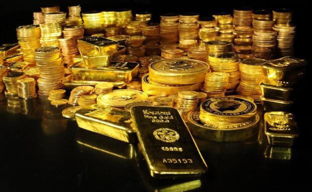 Der Goldpreis wird 2013 stagnieren, besagt die neuste Studie der V-Bank.