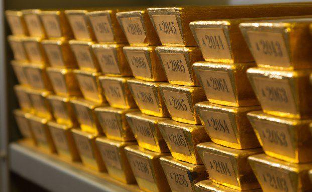 Goldbarren-Lager der Bundesbank, Foto: Getty Images