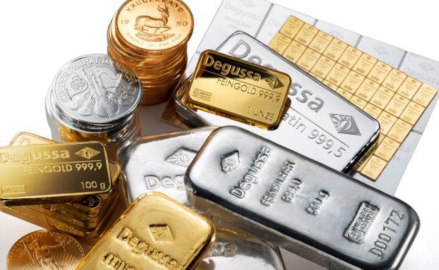 Gold oder Silber?: Das raten Vermögensverwalter. Foto: Degussa