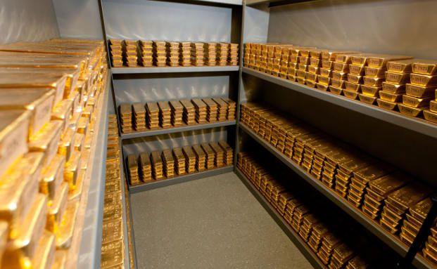 Goldschatz der Bundesbank (Foto: Bundesbank)