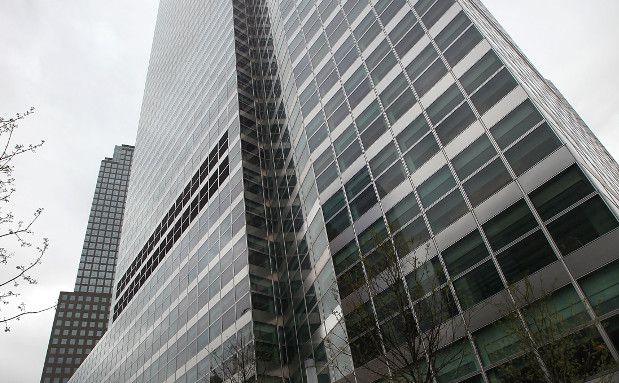 Das Goldman Sachs Hauptquartier in Manhattan