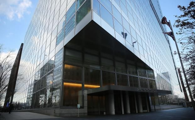 Goldman Sacks Hauptsitz in New York. Foto: Getty Images