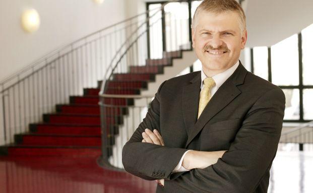 Gottfried Urban, Vorstand der Bayerische Vermögen in Traunstein