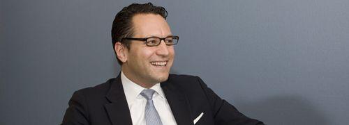 Dr. Sebastian Grabmaier, Aragon AG, <br>Foto: Bernd Hegert