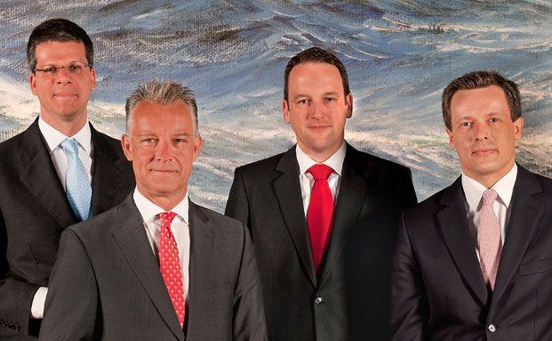 Von links: Alexander Betz, MPC Capital; Jens Brandis,<br>Fondshaus Hamburg; Andreas Arndt, HCI Capital und <br>Florian Maack, Nordcapital (alle Fotos des Roundtables:<br> Thomas G&ouml;rny)