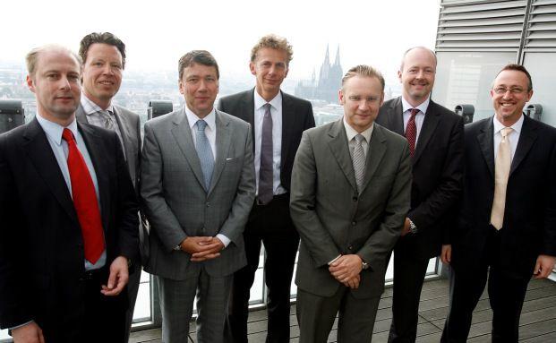 Die Roundtable-Teilnehmer (v.li.): Thomas Polach, Markus <br>Sievers, Klaus-Dieter Erdmann, Tom Wede, Eckhard Sauren,<br>G&uuml;nther Kastner und Michael Geier (Fotos: Jo Schwartz).