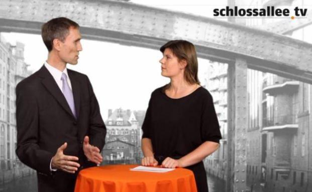 Guido Lingnau, Geschäftsführer der Finanzberatung Guliver im Gespräch mit DAS INVESTMENT Redakteurin Astrid Lipsky.