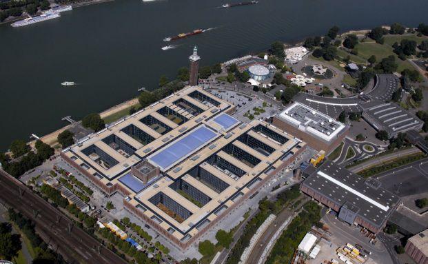 Luftaufnahme des HDI-Standortes in Köln (Foto: HDI)