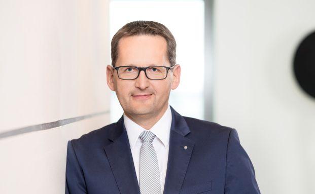 Jörg W. Stotz, der Geschäftsführer der Hansainvest in Hamburg