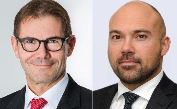 Felix Haldner (links) und Markus Pimpl von der Partners Group.