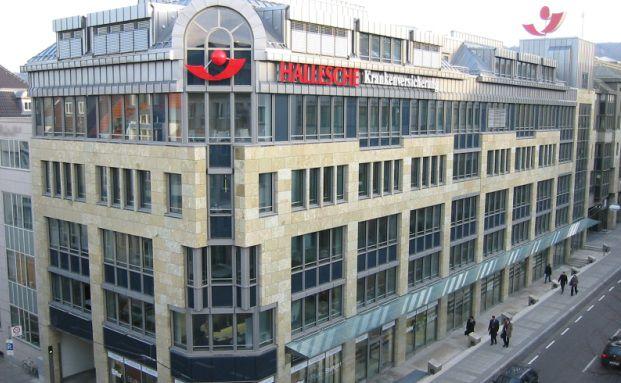 Hallesche Krankenversicherung, Firmensitz in Stuttgart: Die beliebteste private Krankenversicherung unter unabhängigen Vermittlern (Foto: Hallesche)