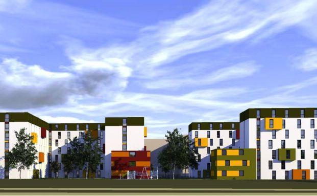 So soll das Studentenwohnheim in Mainz künftig aussehen