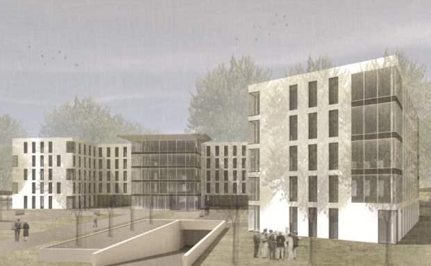 Die zukünftige Hauptverwaltung der BGHM: Hamburg Trust startet den ersten KAGB-Immobilienfonds (Quelle: Hamburg Trust)
