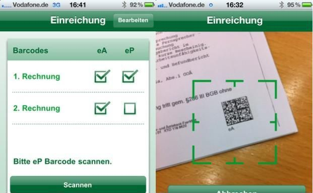 ": Hanse Merkur bringt ""Rechnungs-App"""