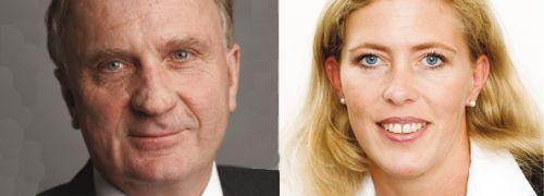 Hanno Weiß und Silke Harms