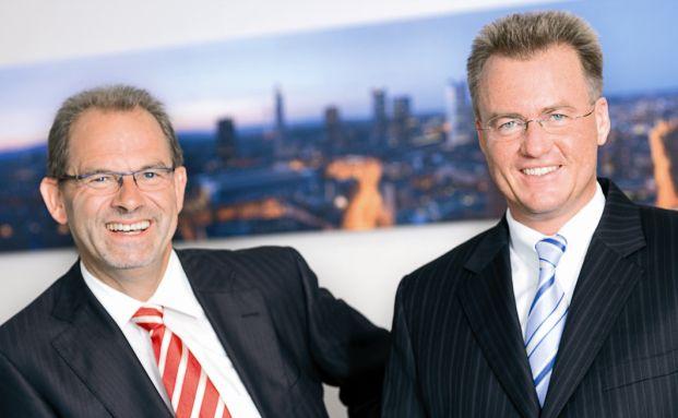 Walter Klein (links) und Thorsten Hass
