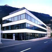 LGT-Hauptgebäude in Vaduz