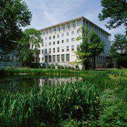 Die Hauptverwaltung der Allianz<br>in München