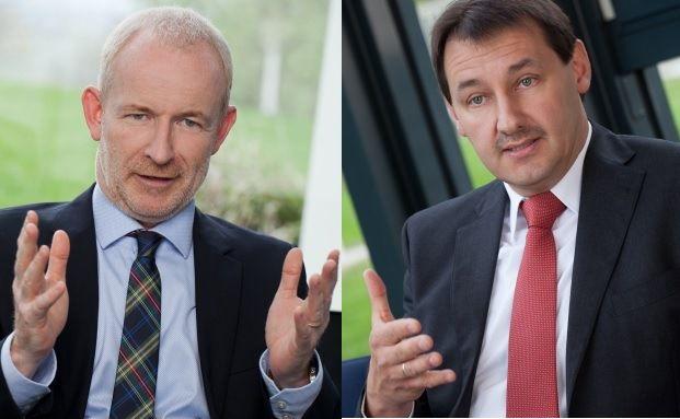 Thomas Klein (links) leitet Vertrieb und Marketing bei der Heidelberger Leben, Michael Sattler ist Vorstandsvorsitzender des Versicherers. Foto: Heidelberger Leben