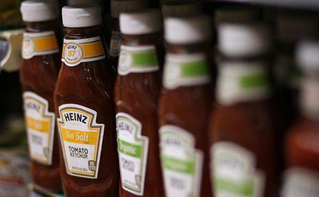 Heinz Ketchup-Flaschen