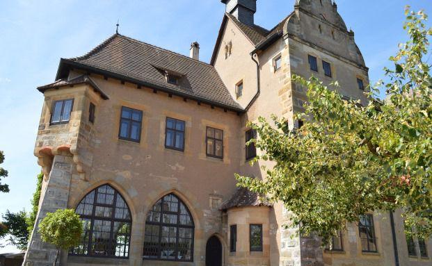 """Schloss Altenburg – hier trafen sich Sachwerte-Experten und Versicherungsspezialisten zu den """"Bamberger Gesprächen"""" von Helvetia Versicherungen. Foto: Helvetia Versicherungen"""