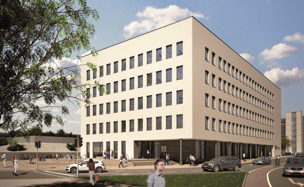 Geplantes Hochschulgebäude in Nürnberg