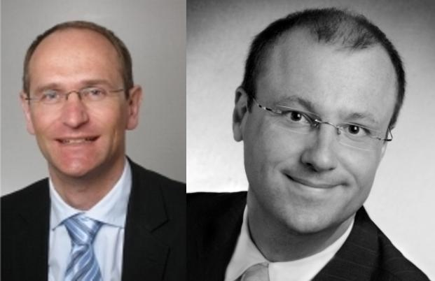Christian G&auml;rtner, I.C.M. Investmentbank (l) und <br> Thomas Heyden, Heyden & Steindl