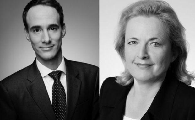 Christine Funck und Thomas Heindl verstärken ab sofort das Direktversicherungsteam von Hiscox. Foto: Hiscox