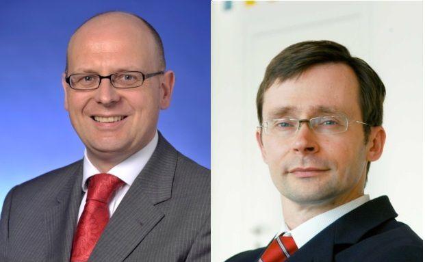 Stefan Hofrichter (links) und Ulrich Kater