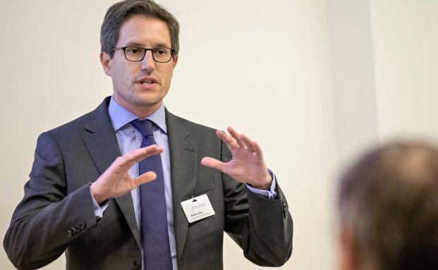 Matthias Hoppe (42), Senior Vice President, arbeitet seit 2008 für Franklin Templeton. (Foto: Uwe Nölke)
