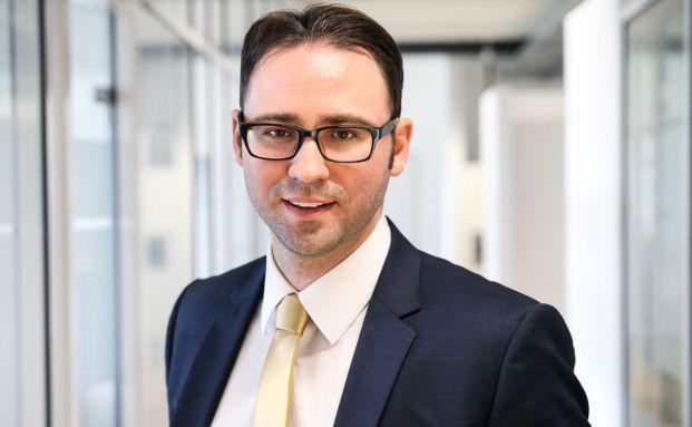 Davor Horvat, Vorstand von Honorarfinanz in Karlsruhe