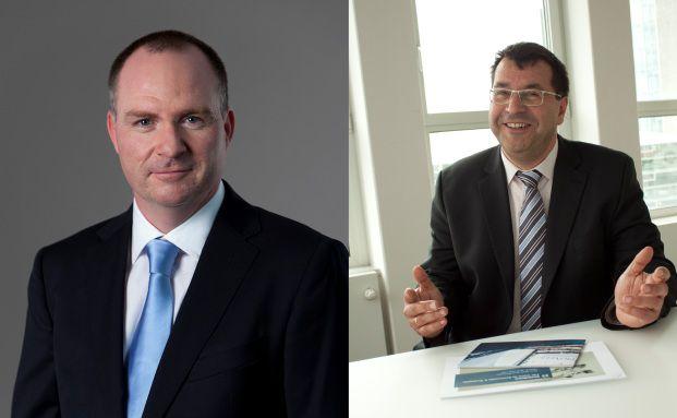 Karl Huber (links) und Herbert Ruf (rechts)