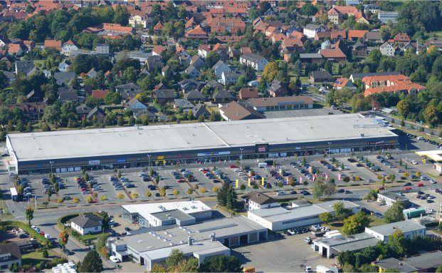 Investitionsobjekt des neuen ILG-Fonds: Einkaufszentrum in Pattensen bei Hannover, Quelle: ILG