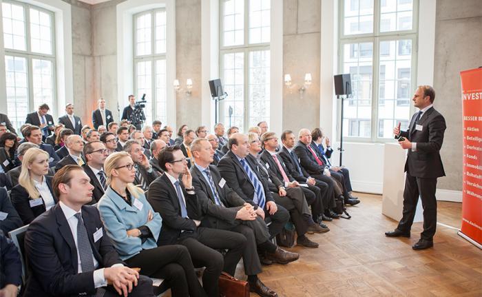 Vortrag von Philipp Koch, Unternehmensberater bei McKinsey & Company. Foto: Christian Scholtysik