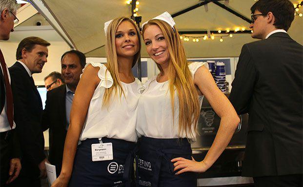 Die Damen der DEFINO auf der DKM 2014. (Foto: Oliver Lepold)