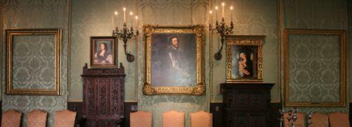 Vor kurzem j&auml;hrte sich der Kunstraub im<br> Isabella Stewart Gardner Museum zum 20. Mal. <br>Als Mahnmal h&auml;ngen die leeren Bilderrahmen<br>an der Wand.<br>Foto: Isabella Stewart Gardner Museum