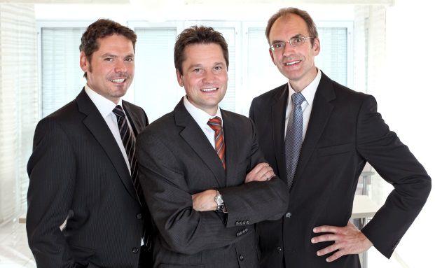 Die Vorstände des IVFP v.l.n.r. Frank Nobis, Michael Hauer, Thomas Dommermuth. Foto: IVFP
