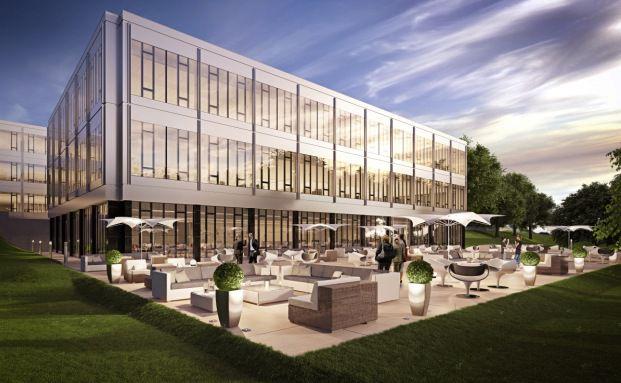 Projektentwicklung Seestern 3 in Düsseldorf aus dem Portfolio des Uni Immo: Europa. (Quelle: Union Investment)