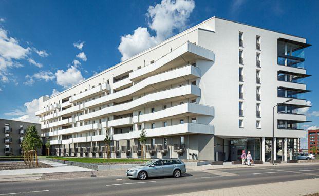Vorschau der Neubau-Wohnanlage in Frankfurt am Main (Quelle: Hamburg Trust)