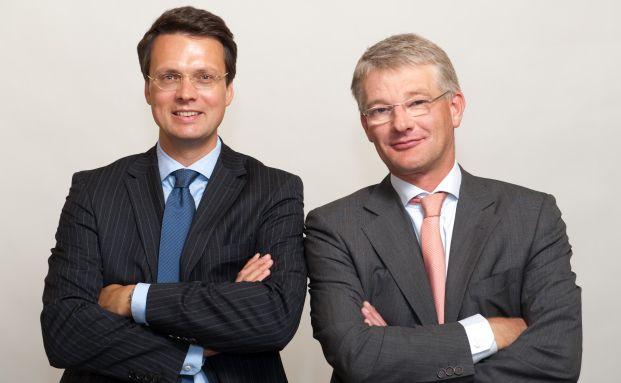 Martin Mack (links) und Herwig Weise, Manager des M & W Capital