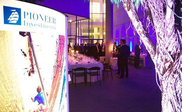 Abendveranstaltung bei der Pioneer-Investmentkonferenz. Fotos: Stanislav Erman, Pioneer Investments