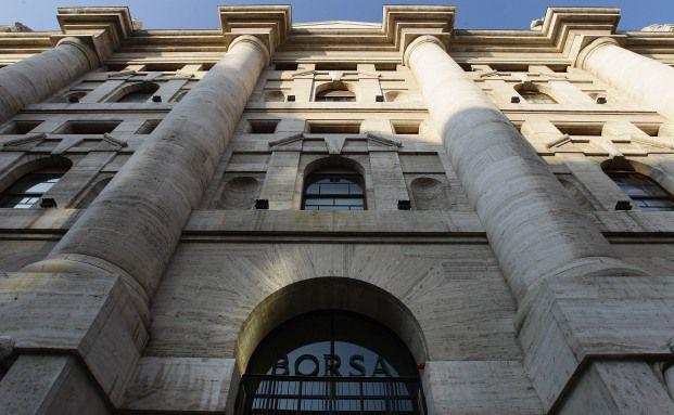 Die Italienische Börse in Mailand. Foto: Getty Images