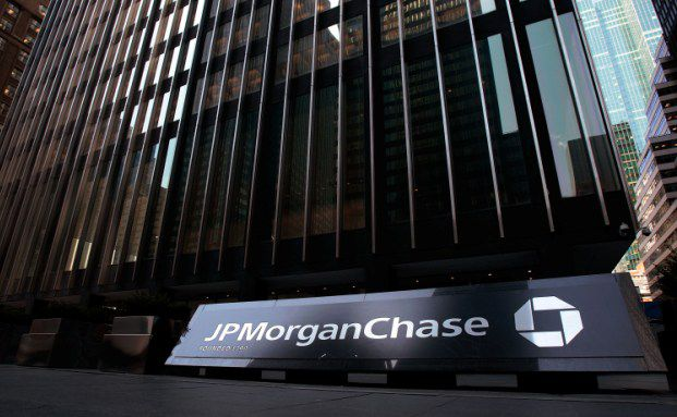J.P. Morgan Chase-Geb&auml;ude in New York. <br> Quelle: Getty Images