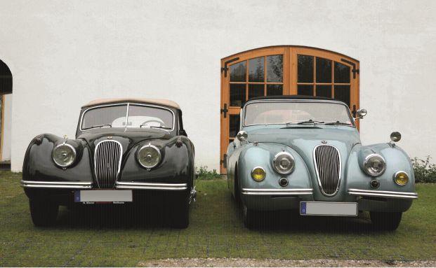 Rolf Hubers Jaguar XK 120 Autenrieth Cabrio