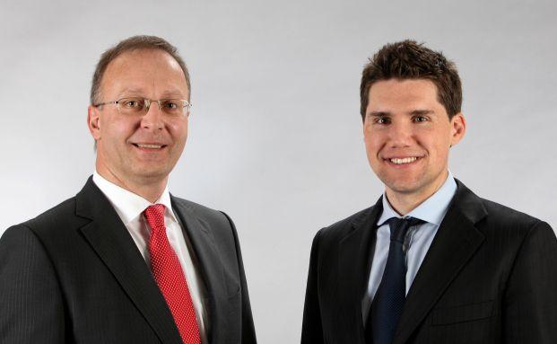 Jörg-Dieter Leinert und Christian Jahnke