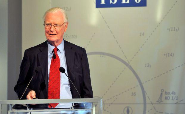 Wirtschaftsnobelpreisträger James Mirrlees