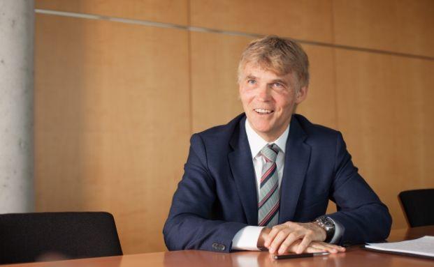 Markus Jost, Mitglied des Vorstands der Basler Versicherungen und verantwortlich für die Ressorts Lebensversicherungen sowie Exklusivvertrieb, Foto: Florian Sonntag