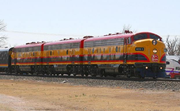 Ein KSC-Zug. Quelle: Terry Cantrell /Wikipedia