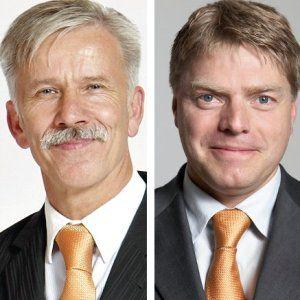 Ulrich Kaffarnik (links) und<br>Peter Schmitz sind neu<br>im DJE-Vorstand